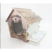 Gösterişli Kedi Evi İsme Özel Kedi Evi Mamalıklı XXL