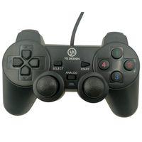 Buffer  Çift Titreşimli USB Kablolu Oyun Kolu PC Uyumlu Vibration Gamepad