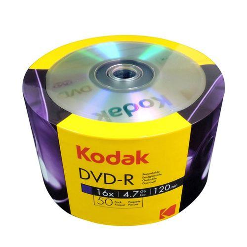 KODAK DVD-R 16X 4.7GB 120 MİN BOŞ CD 50Lİ PAKET FİYAT
