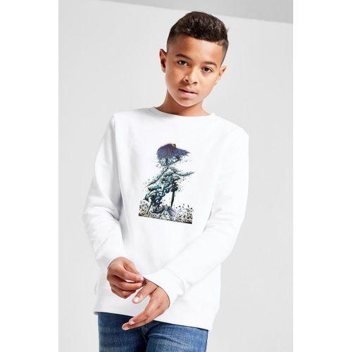 Shen Ji Chapter    Baskılı Unisex Çocuk Beyaz Sweatshirt