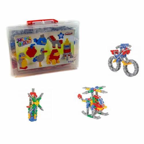 Mikro Blocks Çantalı 288 Parça Lego