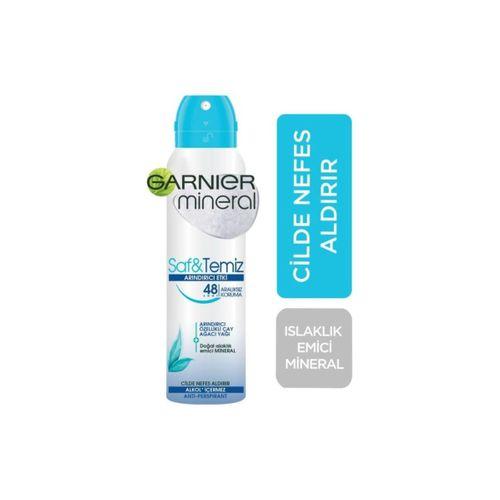 Mineral Saf&temiz Sprey Deodorant 150ml