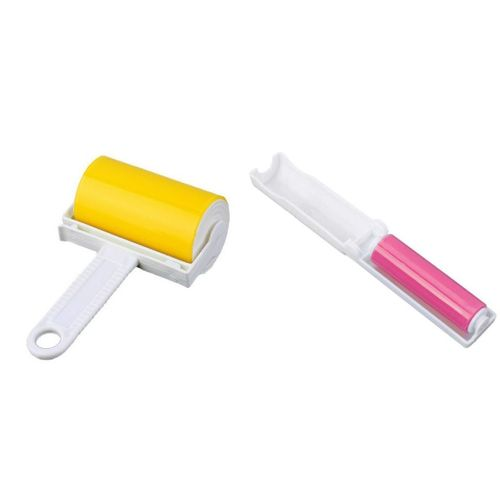 Tüy ve Toz Alma Rulo Seti - Sticky Budy Model 2 - Sarı