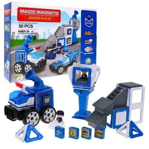 Kızılkaya Oyuncak  Magnetik 50 Parça Polis Lego Seti