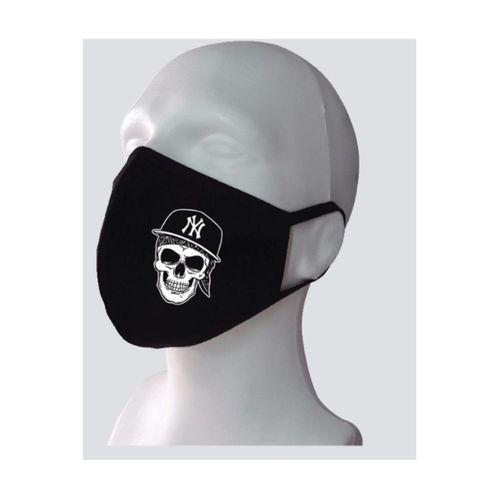 Kuru Kafa Baskılı Yıkanabilir Rahat Çift Kat Kumaş %100 Pamuk Yüz Maskesi