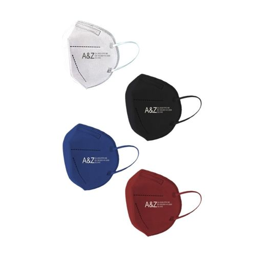 A&Z Med N95 Maske Telli ve Tek Tek Paketli 4 Renk 10lu Kutularda Toplam 40 Adet Maske