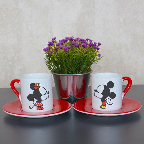 Mickey Minnie Fincan Takımı