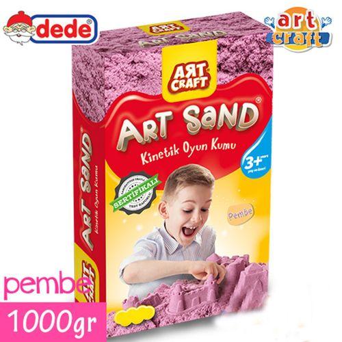 Kinetik Kum Art Craft 1000gr Pembe Kutulu