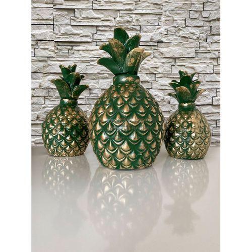 Ananas Biblo 3 lü Set Yeşil - Valide Sultan