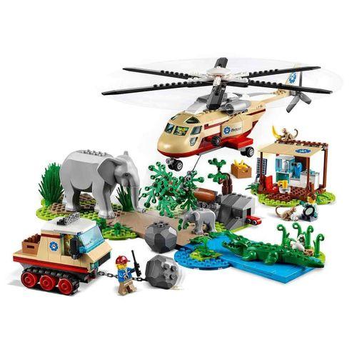LEGO City Stunt Vahşi Hayvan Kurtarma Operasyonu 60302