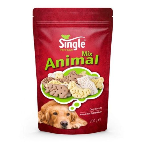 SINGLE Animal Mix Ödül Bisküvisi 200 Gr