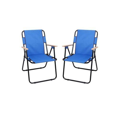 Ahşap Kollu Katlanır Kamp Piknik Sandalyesi romee marka