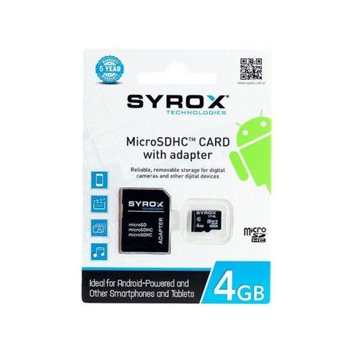 MicroSD 4GB Hafıza Kartı MC4