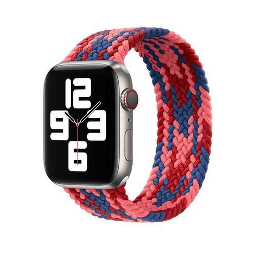 Apple Watch 42mm Wiwu Braided Solo Loop Contrast Color Large Kordon