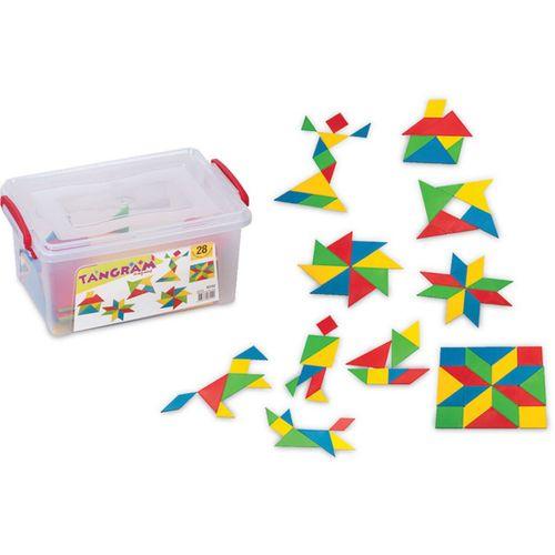Dede Tangram Küçük Box 28 Parça 03152 1522
