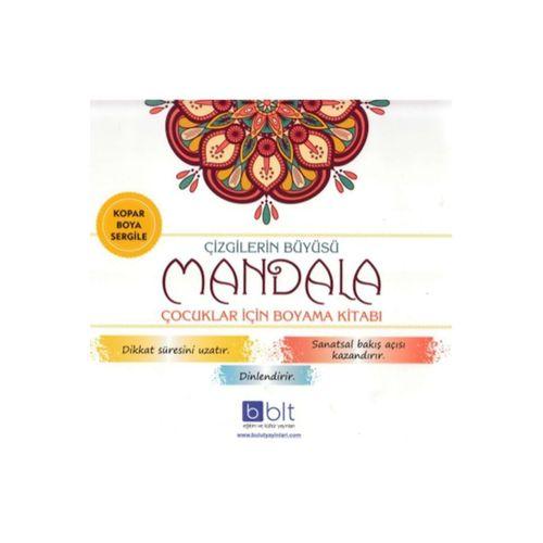 Çizgilerin Büyüsü Mandala Çocuklar Için Boyama Kitabı