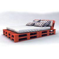 palet yatak kırmızı