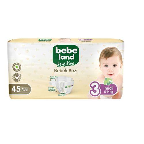 Bebek Bezi Midi 3 Numara 45 Adet