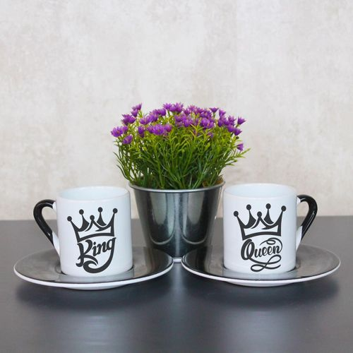 King Queen Fincan Takımı