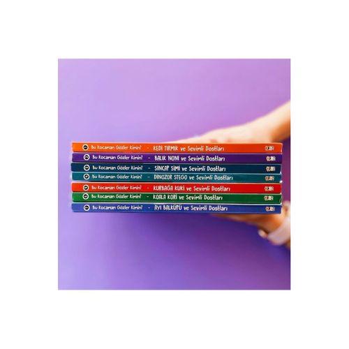 (hediyeli) Hareketli Gözler Kitap Seti 6 Ay+ (small Paket)