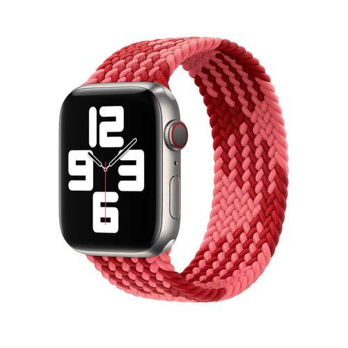 Apple Watch 38mm Wiwu Braided Solo Loop Contrast Color Medium Kordon