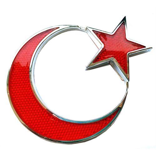 Transformacion Türk Bayrağı Reflektörlü Arma