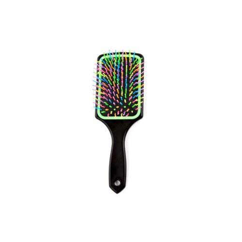 Pratik Renkli Uçlu Plastik Saç Fırçası Tarağı Ergonomik Tarak