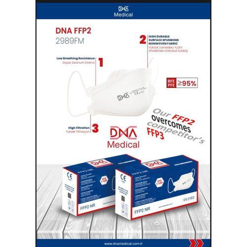 DNA N95 MASKE,25 ADET