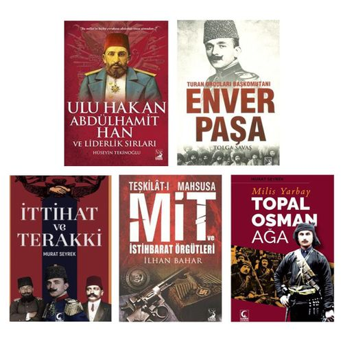 Yakın Tarih Seti 5 Kitap