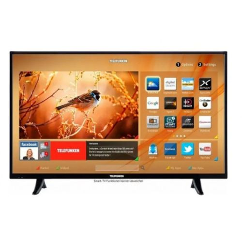 """TELEFUNKEN 43TF6520A 43"""" 108 Cm, Full HD, Dahili Uydu Alıcı, Wifi, Lan, Smart, Led Televizyon"""