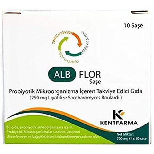 Alb Flor 250 Mg 10 Saşe 5 ADET