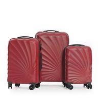 3 lü valiz seti dayanıklı hafıf abs bavul kırılmaz