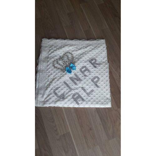İsme özel tasarım nohut battaniye