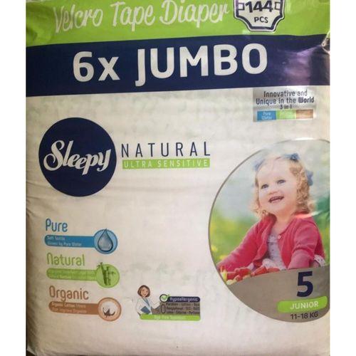 Sleepy Natural 6x Jumbo 144 Adet 5 Numara