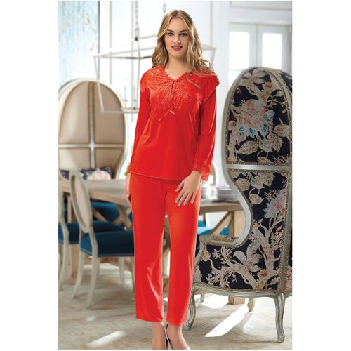 My Angel Home Penye Çeyizlik Pijama Takım