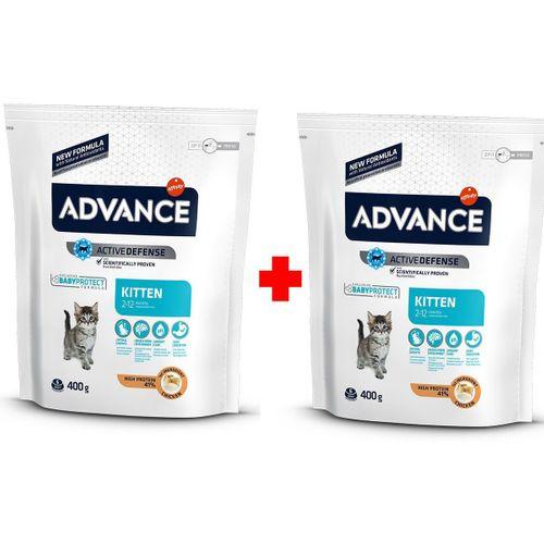 Advance Kitten Yavru Kedi Maması 400+400 gr Hediyeli