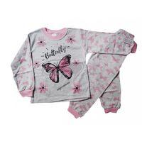Süper Mini Kelebek Desenli Pijama Takımı