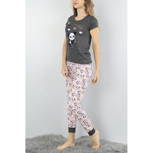 Panda Baskılı Pijama Takımı