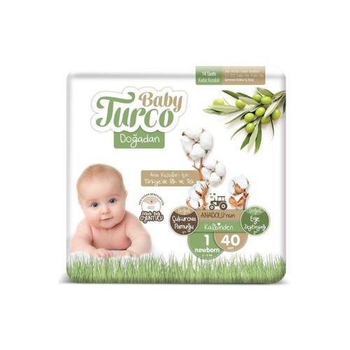 Doğadan 1 Numara Newborn Bebek Bezi 2-5 kg 40 Adet
