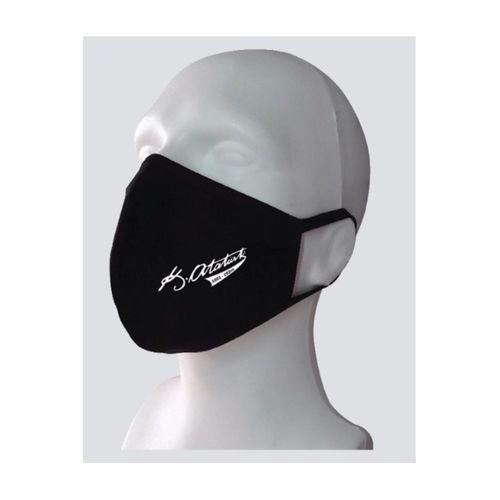 ATATÜRK İmzalı Yıkanabilir Rahat Çift Kat Kumaş %100 Pamuk Yüz Maskesi