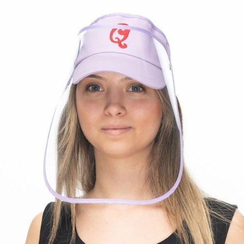 Siperlikli Vizör Şapka (Lila)