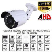 2 MP 1080P 3.6MM 24SMD LED AHD BULLET KAMERA
