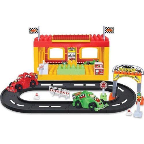 Eğitici Lego Yarış İstasyonu 46 Parça Oyuncak 03321