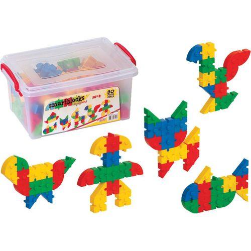 Dede Smart Blocks Küçük 80 Parça 03142 1423
