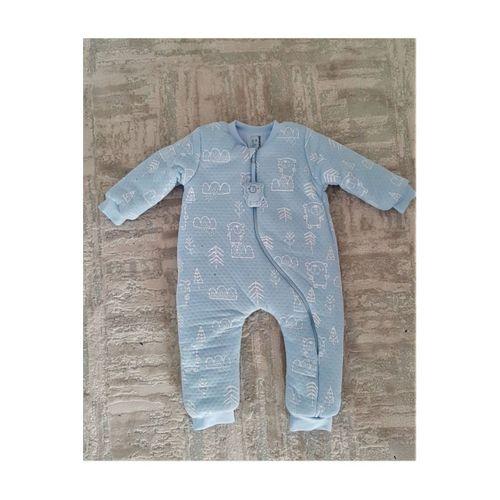 Erkek Bebek Çocuk Sevimli Ayı Figürlü Kozmonot Uyku Tulumu