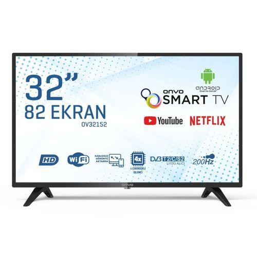 """ONVO OV32152 32"""" UYDU ALICILI ANDROİD SMART LED TV"""