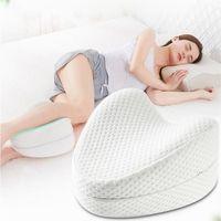 Kalpli Visco Bacak Yastık Rahat Uyku Yastığı