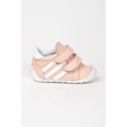 Wstark Hakiki Deri İlk Adım Pudra Kız Bebek Ayakkabı