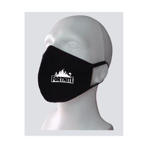 Fornite Baskılı Yıkanabilir Rahat Çift Kat Kumaş %100 Pamuk Yüz Maskesi