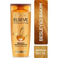 LOral Paris Elseve 6 Mucizevi Yağ Besleyici Şampuan 360 Ml